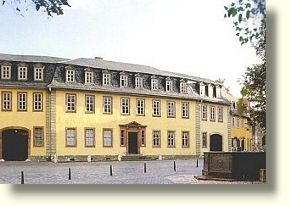 Goethes Haus in Weimar